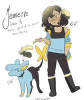 Jeanette Shinx Reference by Skitea