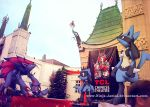 Wild Pokemon by LA's Chinese Theatre by Ninja-Jamal