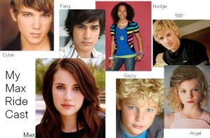 My Maximum Ride Cast by littlehowlbeast