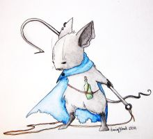 Mouse Guard OC by UnicornLaughter