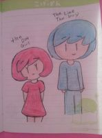 the dot and the line boy by bigbob101