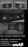 New House texture test by DennisH2010