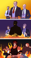 WWE: Fall in Flames by Oniwanbashu