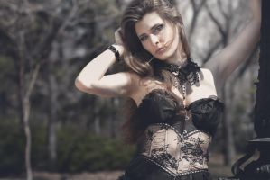 Rocking Rose ( Victorian Gothic) by AlionaLeanca