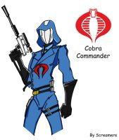 An Animated Cobra Commander by Scream01
