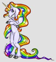 We Like Rainbows and Unicorns by syrcaid