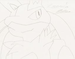 Lucario by Marquis2007