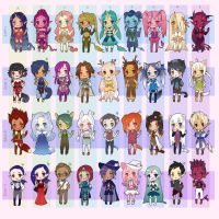 Adopt Chibi Mix - OPEN UPDATE by LittleRueKitty