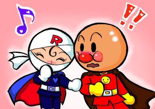 Anpanman and Rollpanna 2 by Yang-Mei