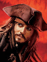 capitan jack sparrow by fungila