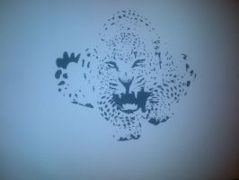 Jaguar stencil by boot-cheese-3000