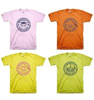 Monsterland Universities t-shirts by ExoesqueletoDV