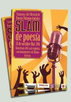 Poetry Slam Slam de poesia by zombieater