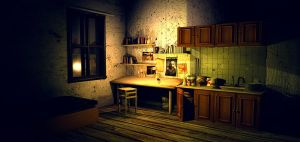 Dave s room 3ds Max 2 by RomanianGuy