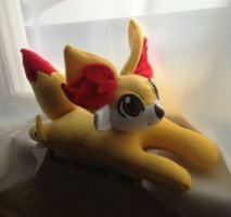 Pokemon X and Y: Fennekin Plush by PakajunaTufty