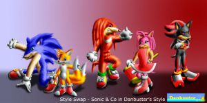 Sonic-Danbuster Style-Swap 1 by DCLeadboot
