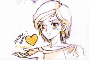 A heart for U by unconventionalsenshi