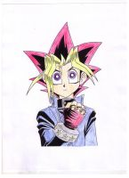 Yugi Muto by Darkfire-Blaze