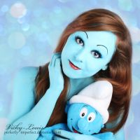 Smurfin' it up. by Perfectly--Imperfect