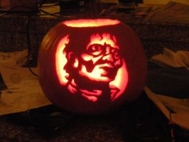 Thriller King of Pop Pumpkin by Kuroudo1723