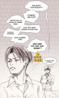 Erwin's desk spring cleaning part 2 by Solkeera