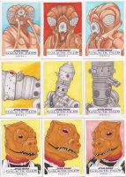 Star Wars Galactic Files Series 2 Sketch Cards 02 by Tyrant-1