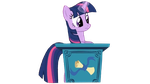 Twilight At Desk (vector) by Evolnekos