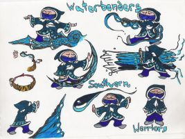 mini Southern Warriors by moptop4000