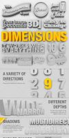 Dimensions 3D Generator Action by PremiumPSDFiles