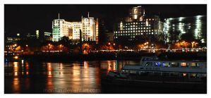 Thames River by Morillas