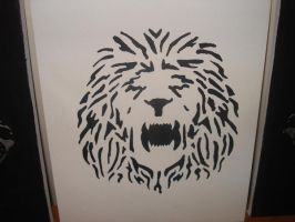 Middle Lion by Emmerindeed