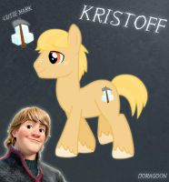 Kristoff Pony From Frozen (No Hat No Cloth) by Doragoon