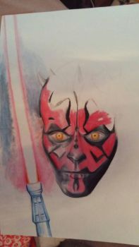 Darth maul project by Dylisart