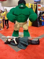 Hulk Smash! *dying whale noise* by gossamer-and-giggles