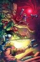Guardians of the Galaxy by Kyle-Fast