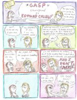 Vampire Chronicles Comic 5 by QuinnthePrincess
