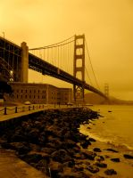 The Golden Gate by Awen52