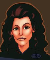 Counselor Troi by thomsolo
