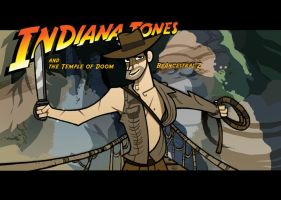 Indiana Jones II by Ancestral-Z