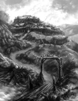 Cthulhu: Hillfort by Merlkir