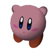 Kirby Pose by infersaime
