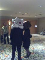 Companion Cube and The Cake (MomoCon 2012) by Zel-Holt