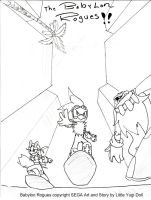 Sonic Riders comic page 28 by Dolltwins