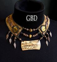 Skvo necklace by gbdreams