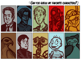 Favourite Characters meme by ph00