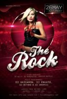 The Rock Party Flyer by caniseeu