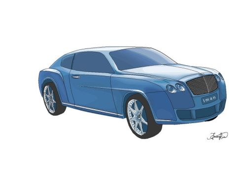 Bentley Continental on Paint by imankia
