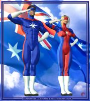 Aussie Heroes by Raddar by WemblyFraggle