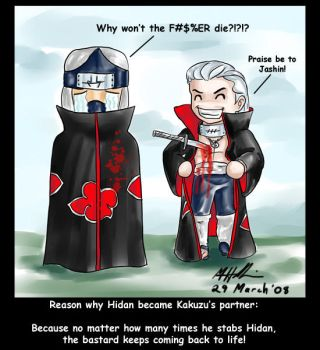 Reasons 004: Hidan and Kakuzu by sharem