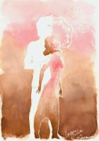 Silhouette - pink by K-naille
